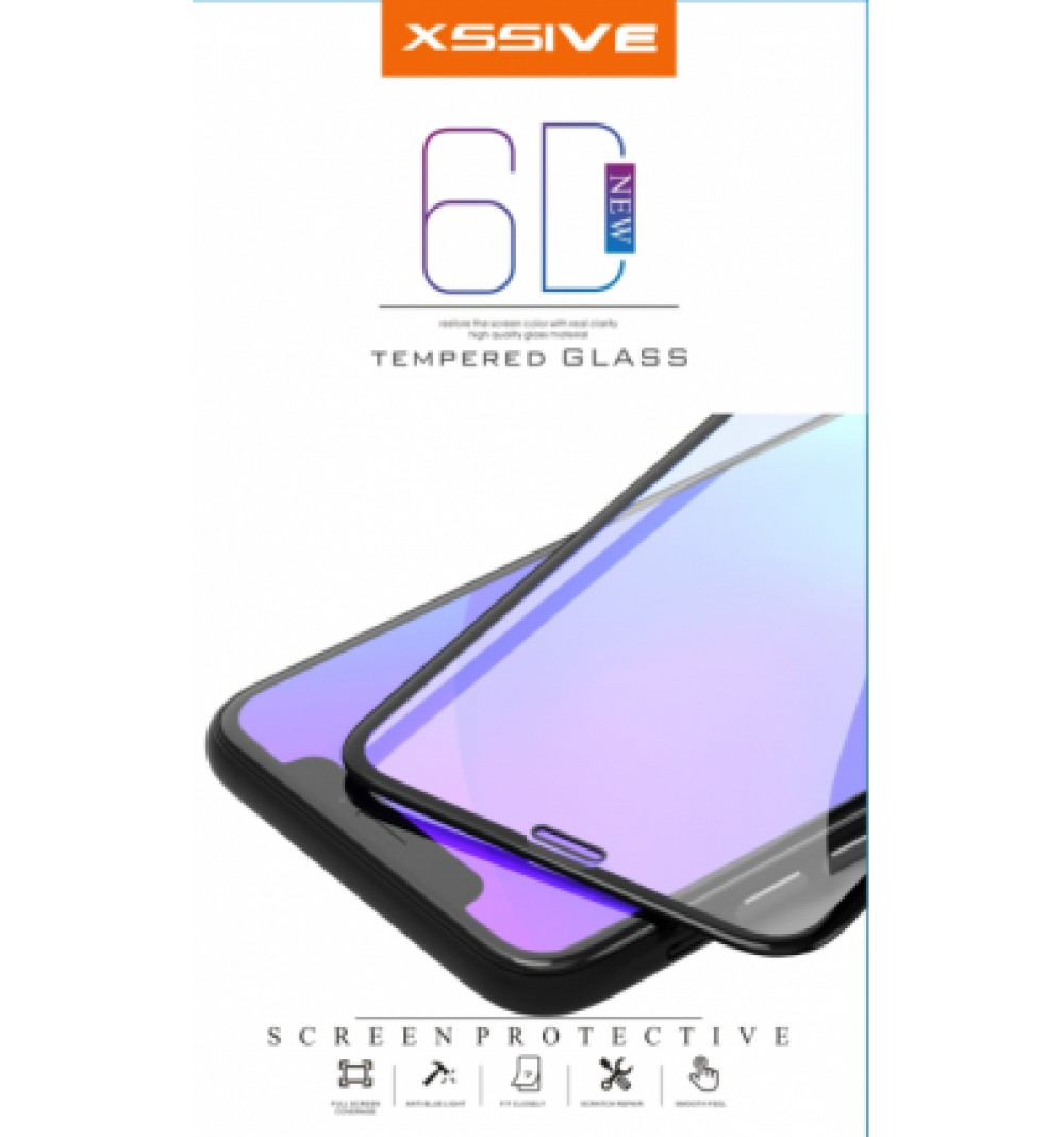 Full cover screenprotector iPhone 8+ White